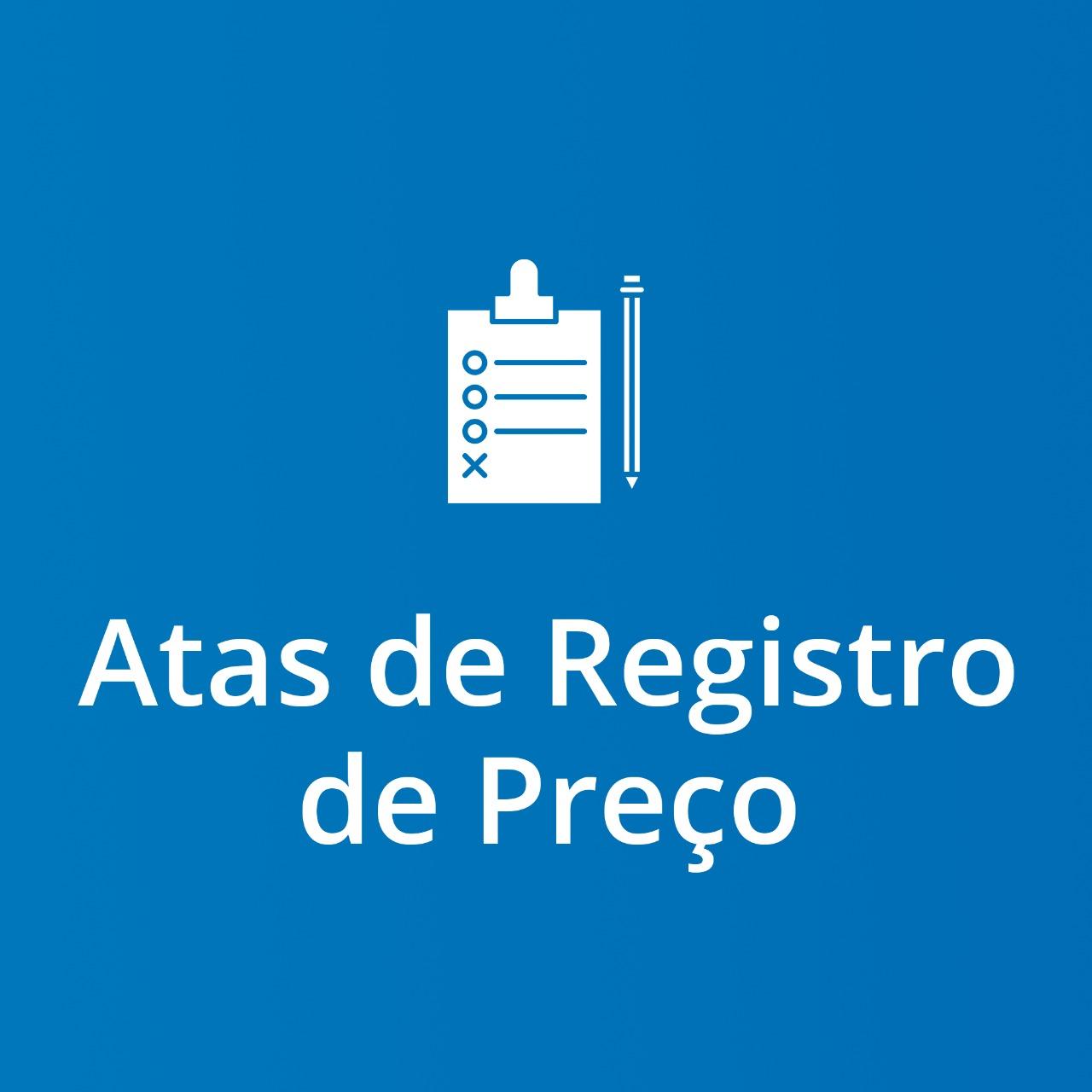 Imagem Atas de Registro de Preços