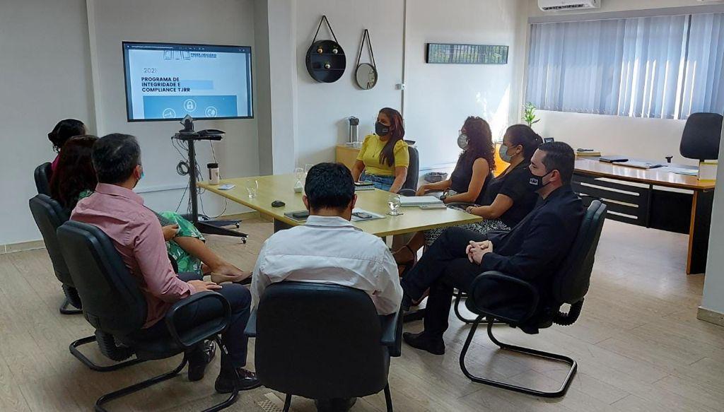 PROGRAMA COMPLIANCE - Poder Judiciário realiza reunião para implementação do projeto