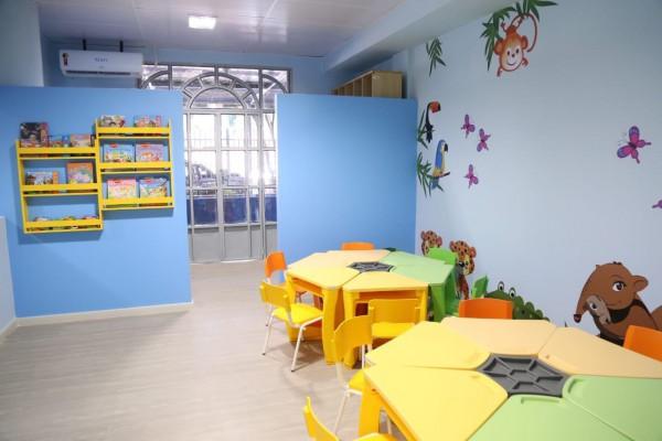 Creche instalada na sede administrativa do Poder Judiciário de Roraima.